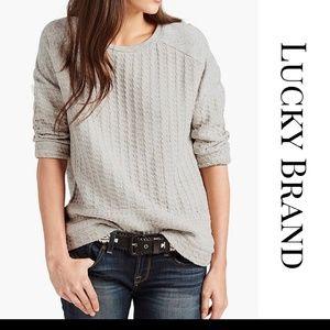 Luck Brand 3/4 sleeve shirt